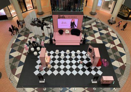 Презентация новой коллекции Barbie бренда Love Republik, ТЦ Атриум